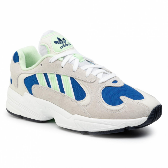 Topánky adidas - Yung-1 EE5318 Ftwwht/Glogrn/Croyal