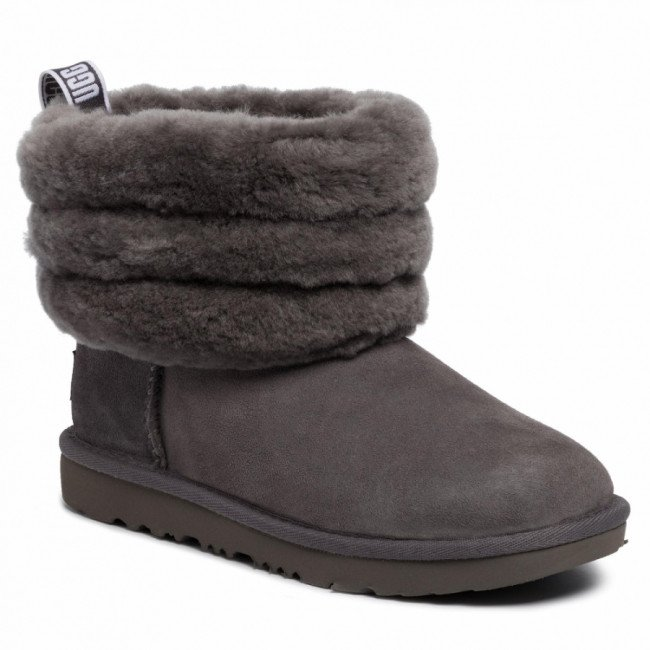Topánky UGG - T Fluff Mini Quilted 1103612K Chrc