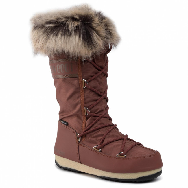Snehule MOON BOOT - Monaco Wp 2 240087004 Rust