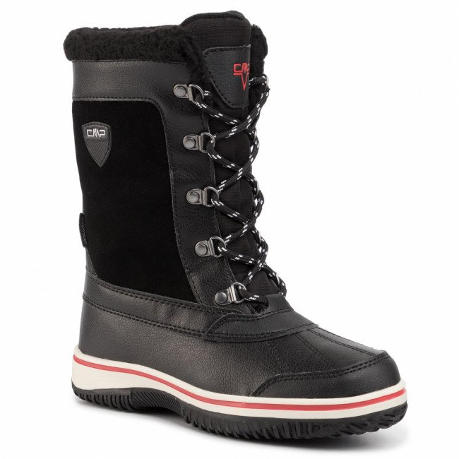 Snehule CMP - Junior Kide Afterski Boot Wp 38Q4504 Nero U901