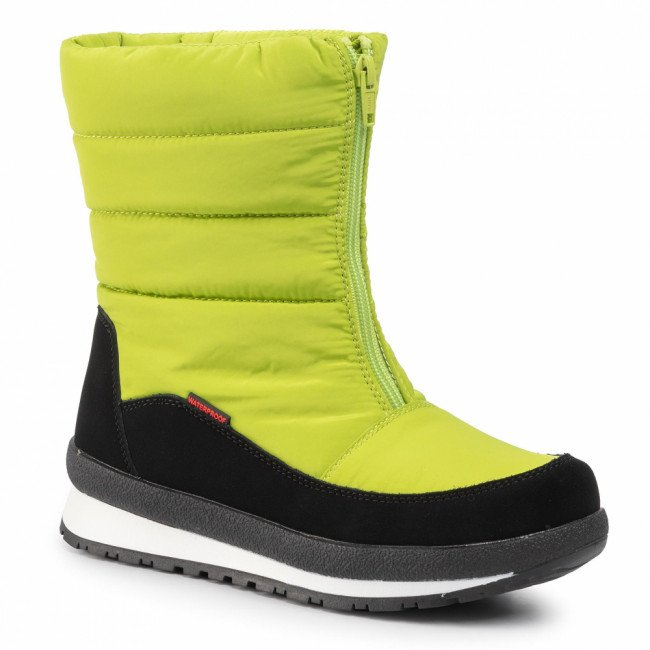 Snehule CMP - Kids Rae Snow Boots Wp 39Q4964J Lime Green E413