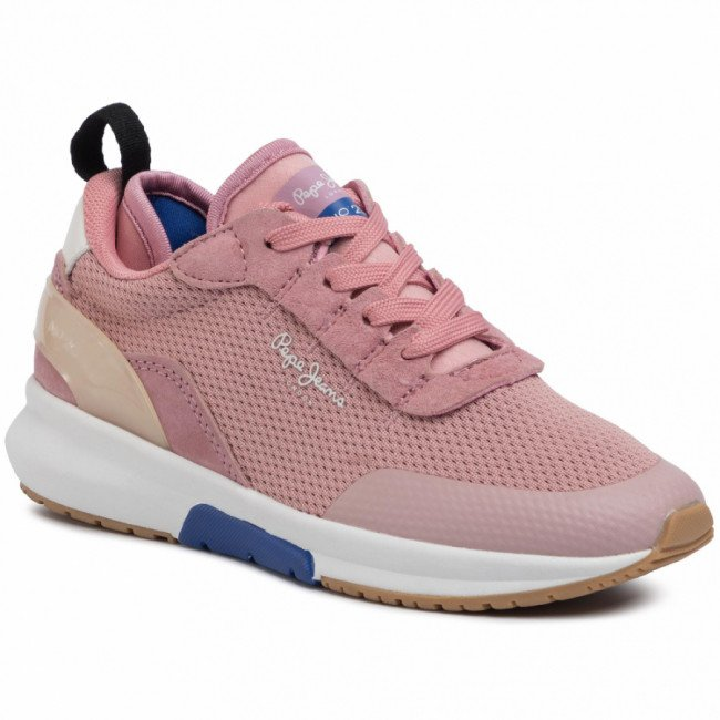 Sneakersy PEPE JEANS - Nº22 J PUS30007  Mauve Pink 319
