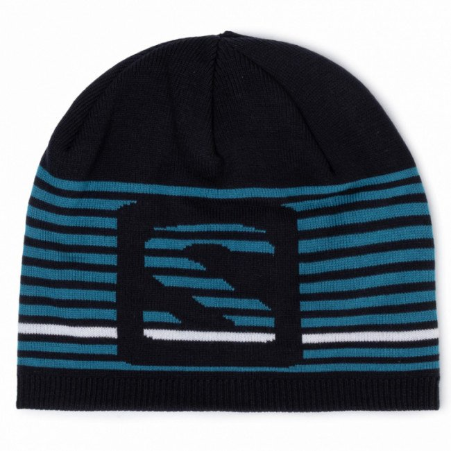 Čiapka SALOMON - Flatspin Short Beanie C11428 01 S0 Night Sky
