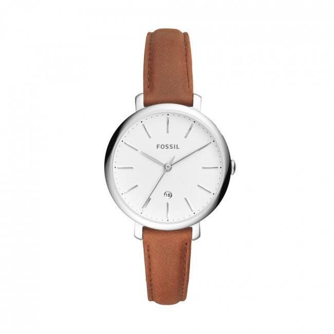 Hodinky FOSSIL - Jacqueline ES4368 Brown/Silver