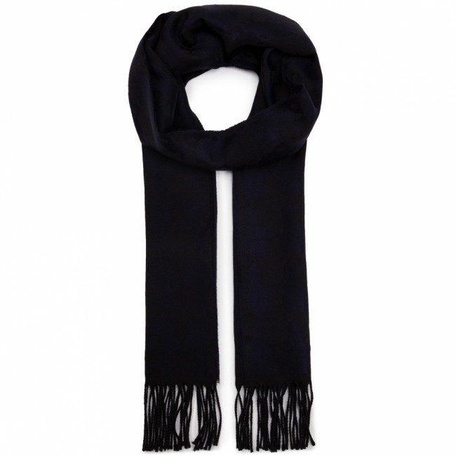 Šál KARL LAGERFELD - Scarf  805001 592132 Midnight Blue 690