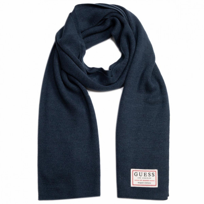 Šál GUESS - Not Coordinated Scarves AM8584 WOL03 BLU