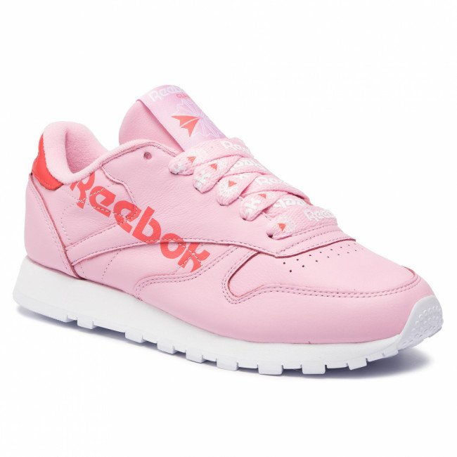 Topánky Reebok - Cl Lthr DV3831 Charming Pink/Red/White