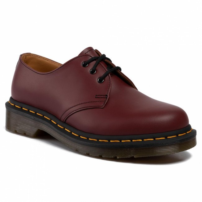 Poltopánky DR. MARTENS - 1461 11838600 Cheery Red/Smooth