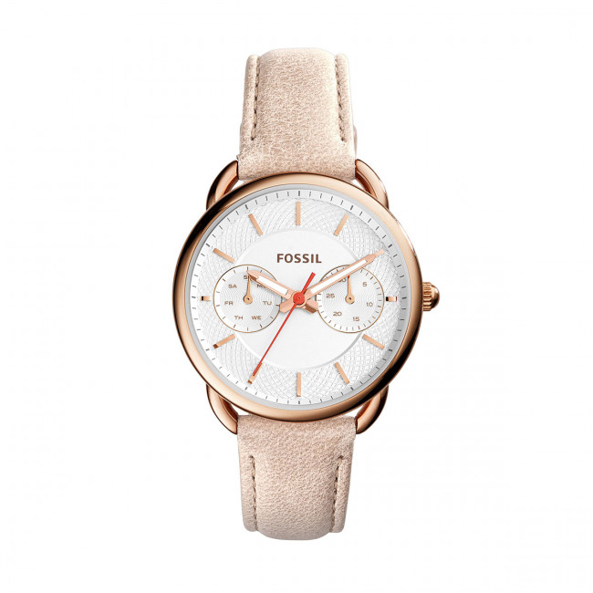 Hodinky FOSSIL - Tailor ES4007  Light Brown/Rose Gold