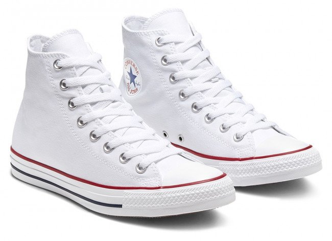 Converse biele unisex topánky Chuck Taylor All Star
