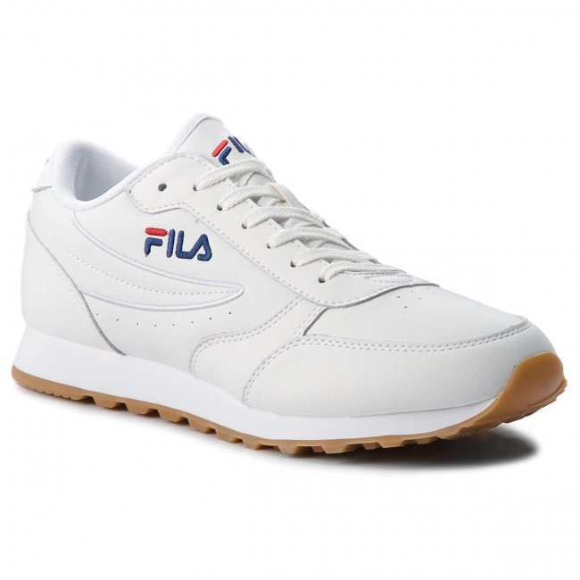 Sneakersy FILA - Orbit Jogger Low 1010264.1FG White
