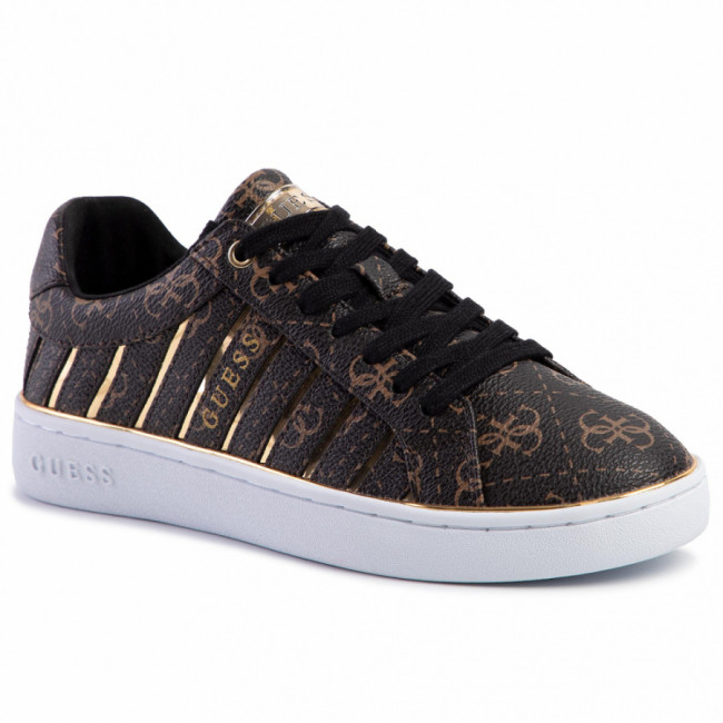 Sneakersy GUESS - Bolier FL5BOL FAL12 BROWN/GOLD