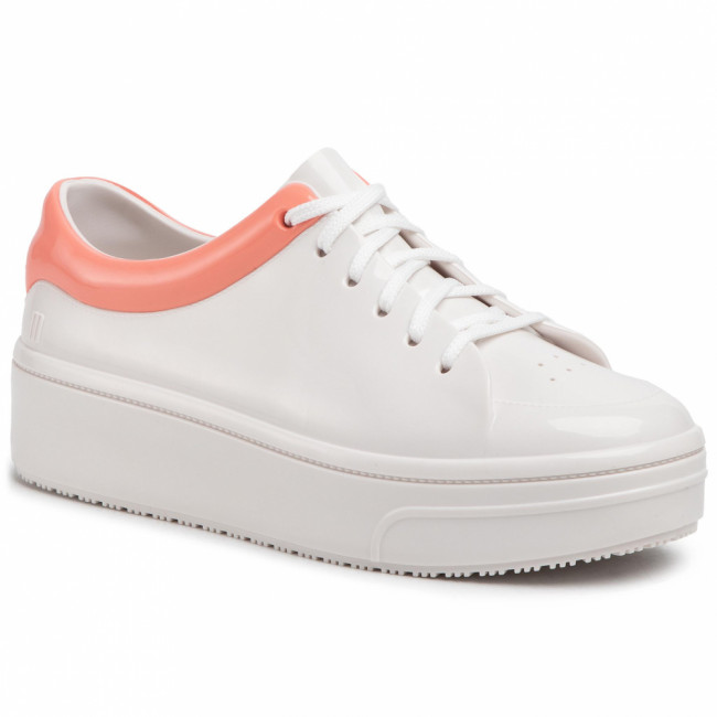 Sneakersy MELISSA - Mellow Ad 32683  White/Pink 50552