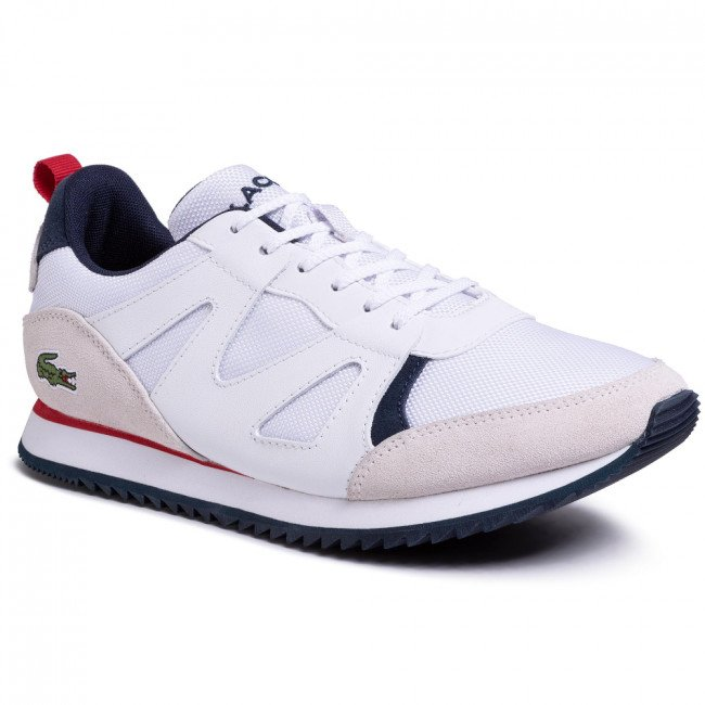 Sneakersy LACOSTE - Aesthet 120 2 Sma 7-30SMA0035407  Wht/Nvy/Red