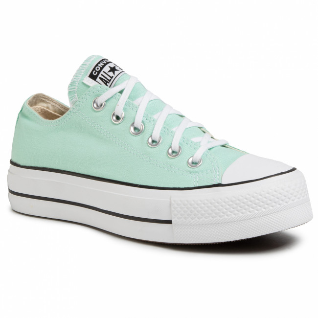 Tramky CONVERSE - Ctas Lift Ox 566758C  Ocean Mint/White/Black