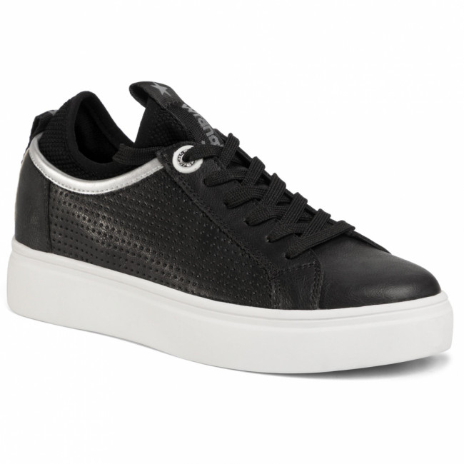 Sneakersy WRANGLER - Olivia Punched WL01601A  Black 062