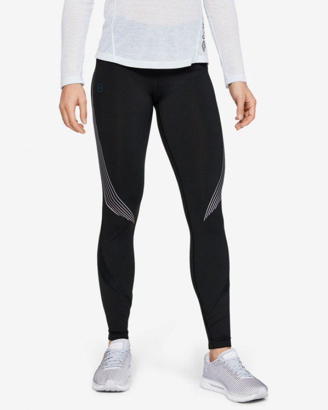 Under Armour RUSH™ Legínsy Čierna