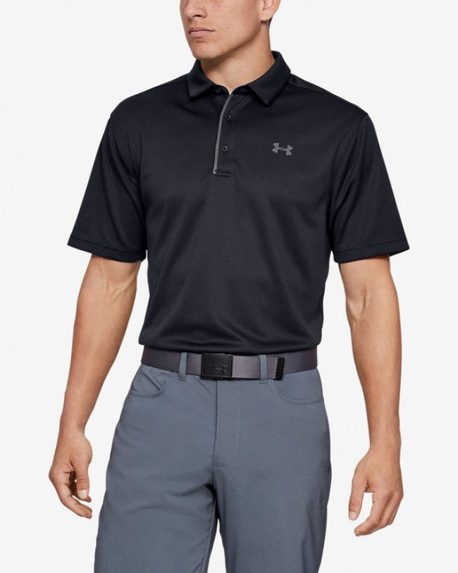 Under Armour Tech™ Polo tričko Čierna