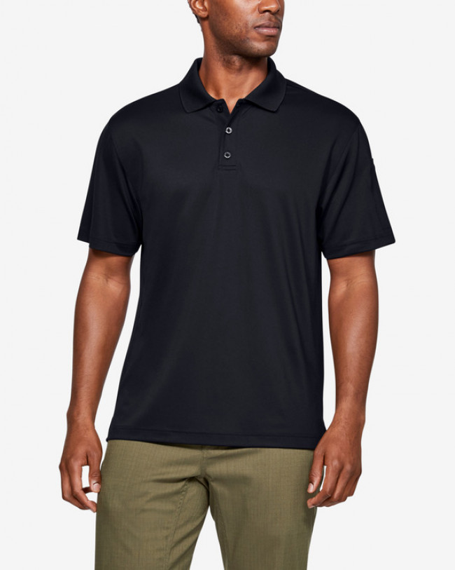 Under Armour Tactical Performance Polo tričko Čierna
