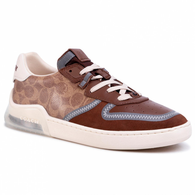 Sneakersy COACH - Ctysl Sig Crt G5015 10011275 Khaki/Saddle