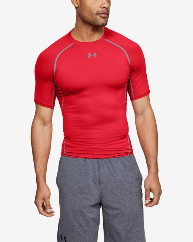 Under Armour Armour Compression Tričko Červená