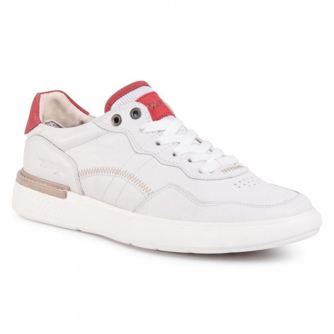 Sneakersy WRANGLER - Discovery Low WM01180A White 051
