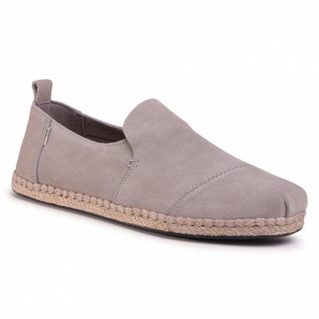 Espadrilky TOMS - Deconstructed Alpargata Rope 10015035  Drizzle Grey