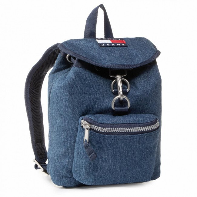 Ruksak TOMMY JEANS - Tjw Heritage Sm Backpack Denim AW0AW08278 CA7