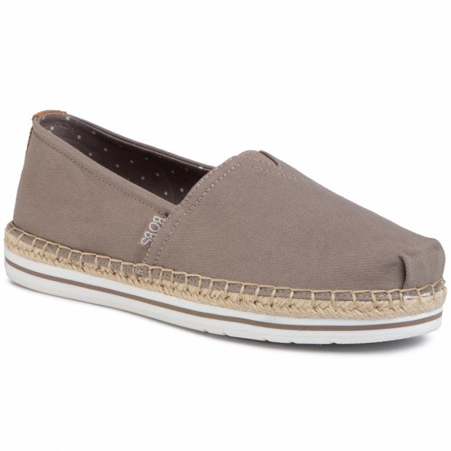 Espadrilky SKECHERS - BOBS Breeze 32719/TPE Taupe