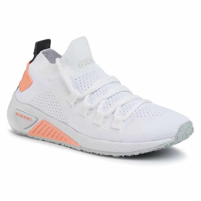 Sneakersy DIESEL - S-Kb Athl Lace W Y01999 P2215 H7788 Star White/White/Can