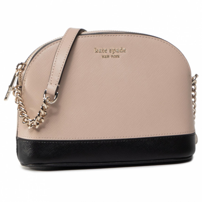 Kabelka KATE SPADE - Spemcer Small Dome Crossbody PWRU7850 Warm Beige/Black 195