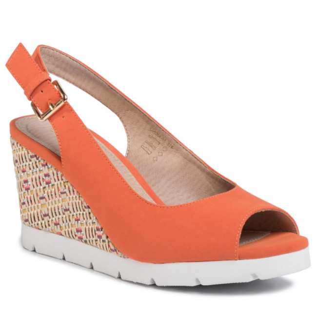 Espadrilky CLARA BARSON - LS5206-03 Dark Orange