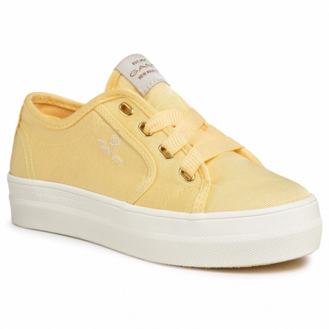 Tenisky GANT - Leisha 20539441 Light Yellow G301