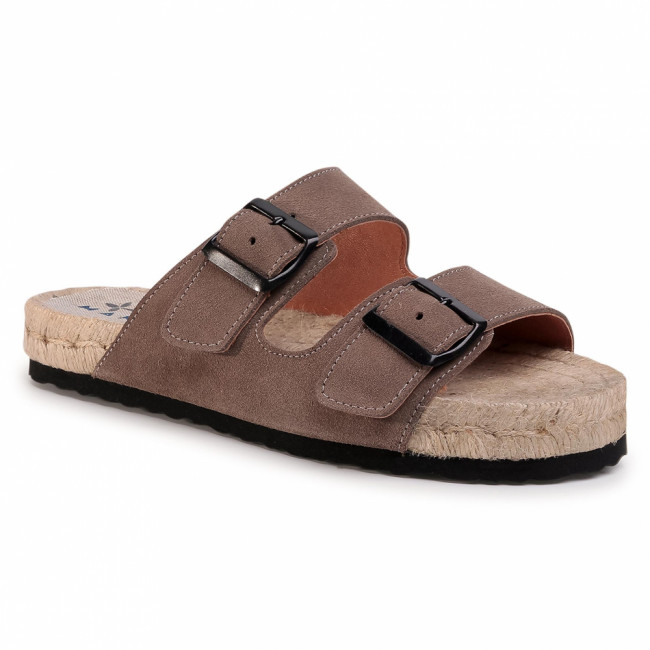 Espadrilky MANEBI - Nordic Sandals K 1.9 R0 Coco Brown
