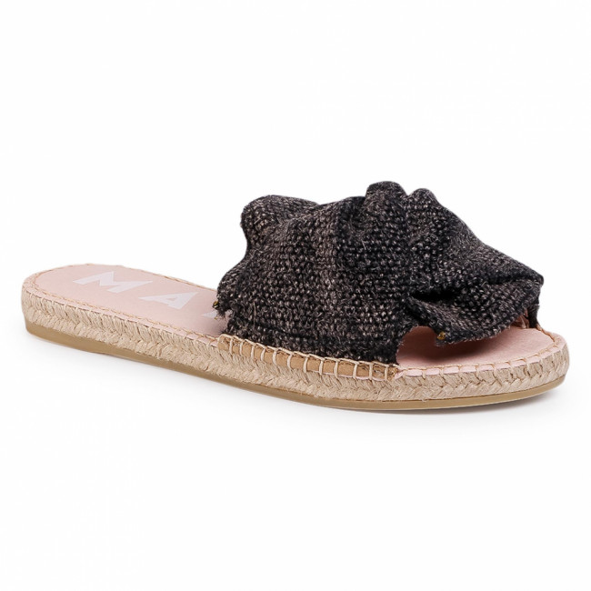 Espadrilky MANEBI - Sandals With Knot C 3.0 J0 Black