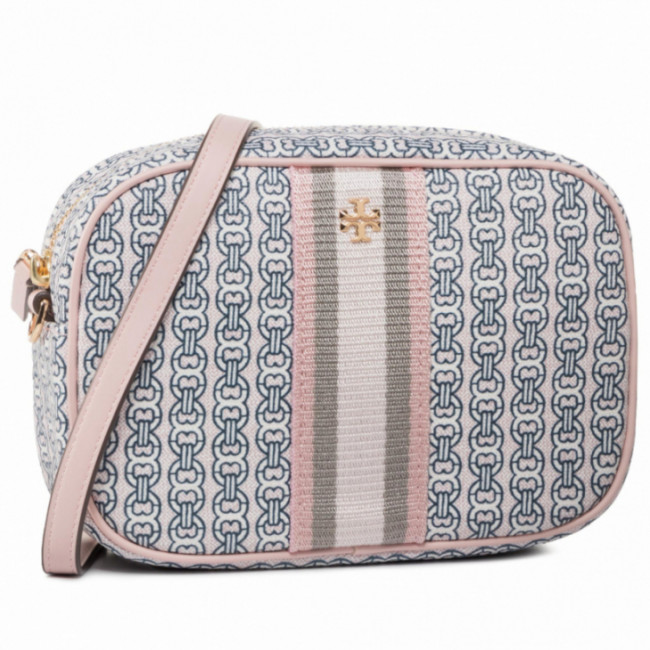 Kabelka TORY BURCH - Gemini Link Canvas Mini Bag 57743 Coastal Pink/Gemini Link 685
