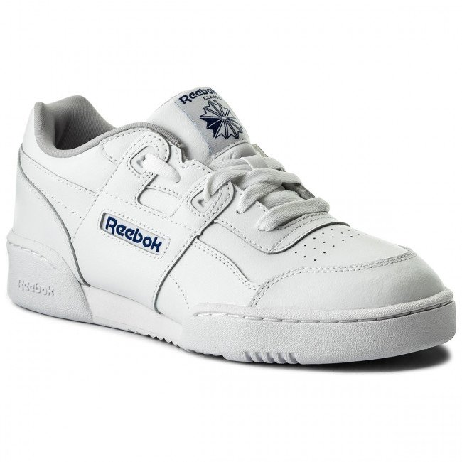 Topánky Reebok - Workout Plus CN1826 White/Steel/Royal