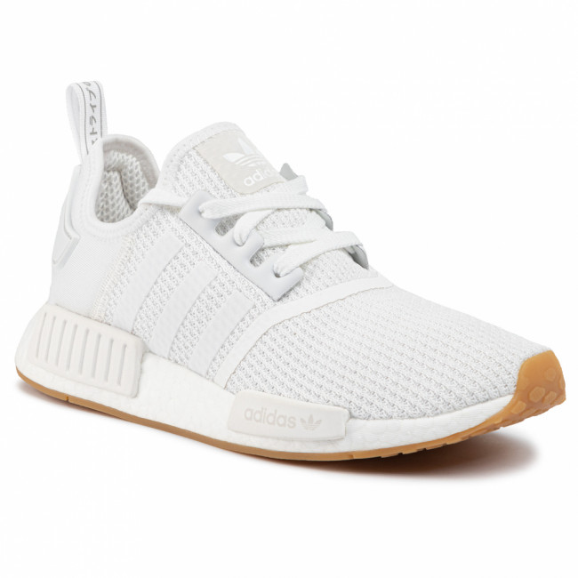 Topánky adidas - NMD_R1 D96635 Ftwwht/Ftwwht/Crywht