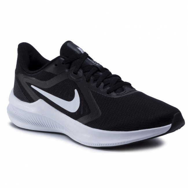 Topánky NIKE - Downshifter 10 CI9984 001 Black/White/Anthracite