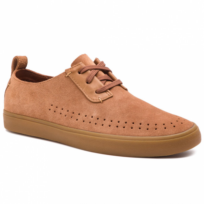 Poltopánky CLARKS - Kessell Fly 261390657 Tan Suede