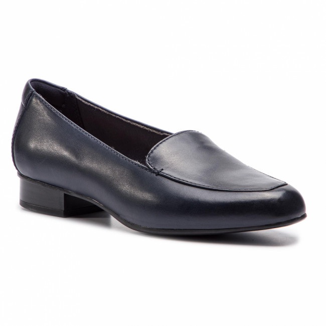 Poltopánky CLARKS - Juliet Lora 261365784 Navy Leather