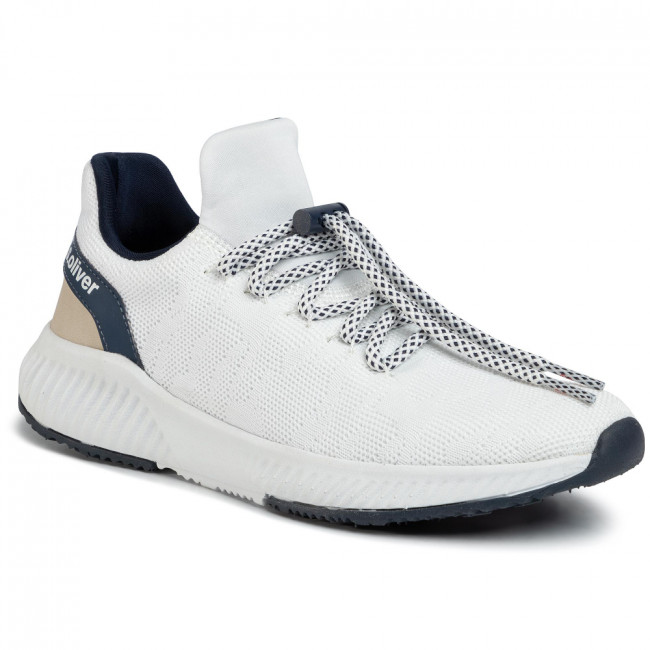 Sneakersy S.OLIVER - 5-23600-34 White/Navy 185