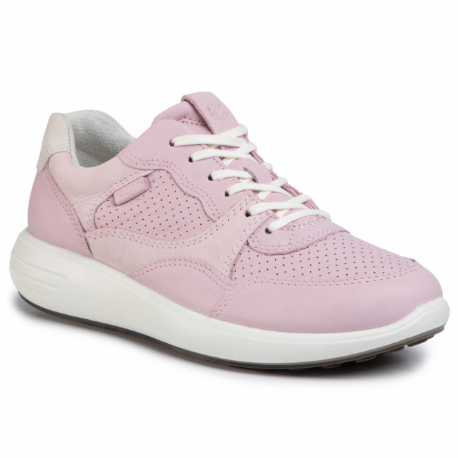 Sneakersy ECCO - Soft 7 Runner W 46061351725 Blossom Rose/Blossom Rose/Shadow White