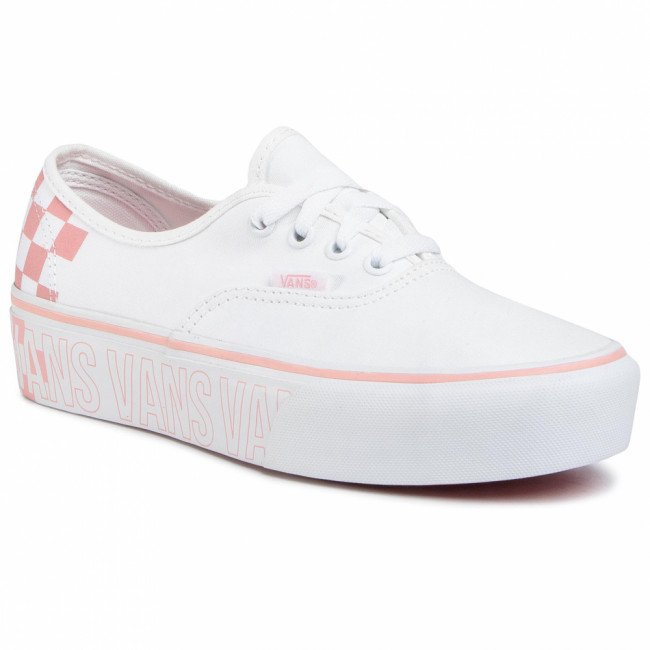 Tenisky VANS - Authentic Platfor VN0A3AV8AHP1 True White/Multi