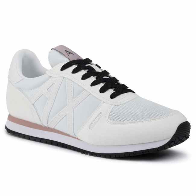 Sneakersy ARMANI EXCHANGE - XDX031 XV308 A222 Opt White/White