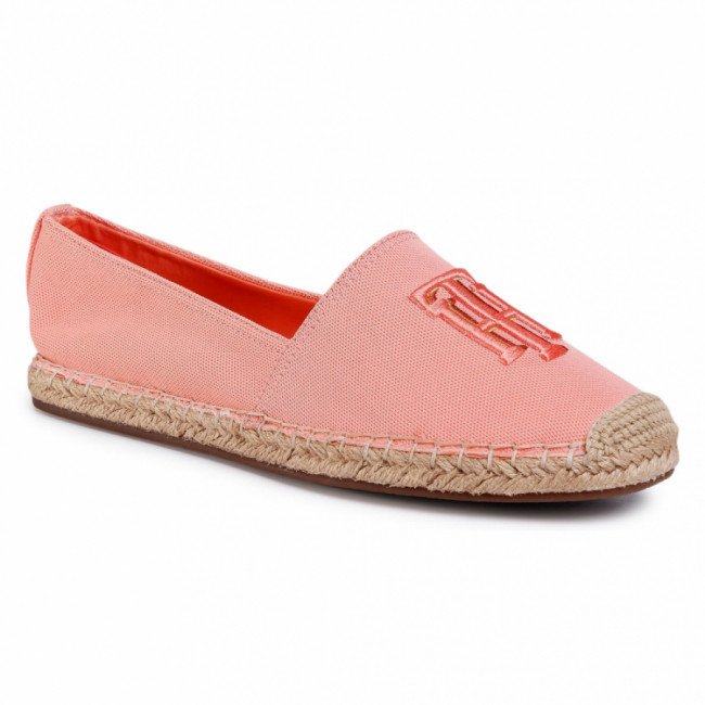 Espadrilky TOMMY HILFIGER - Nautical Basic Th Espadrille FW0FW04876 Island Coral SN7