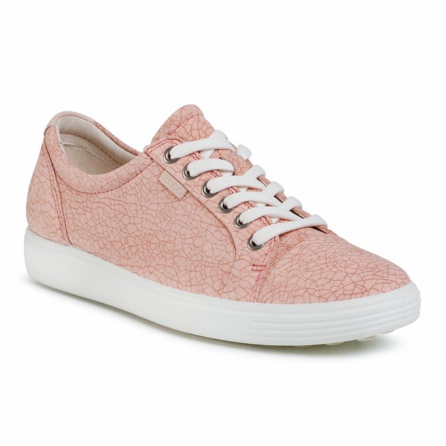 Sneakersy ECCO - Soft 7 W 43000351414 Muted Clay Rosata/Rose Dust