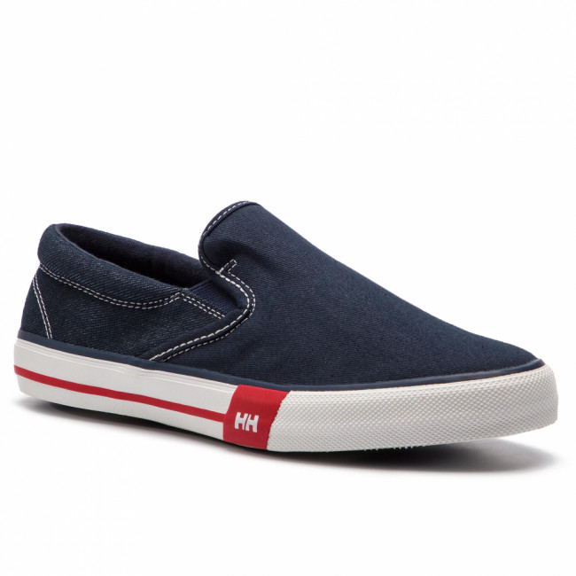 Tenisky HELLY HANSEN - Copenhagen Slip-On Shoe 114-84.597 Navy/Grye Fog/Off White