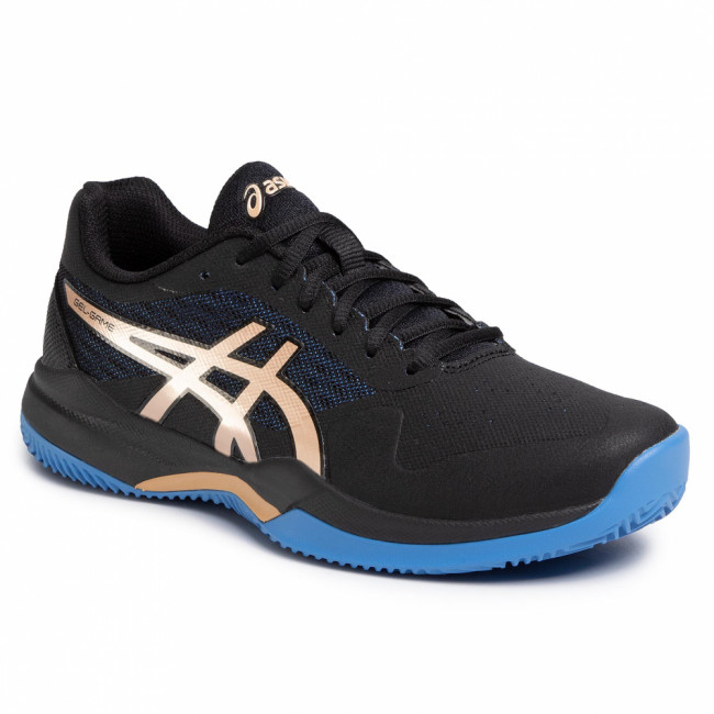 Topánky ASICS - Gel-Game 7 Clay/Oc 1041A046 Black/Champagne 012