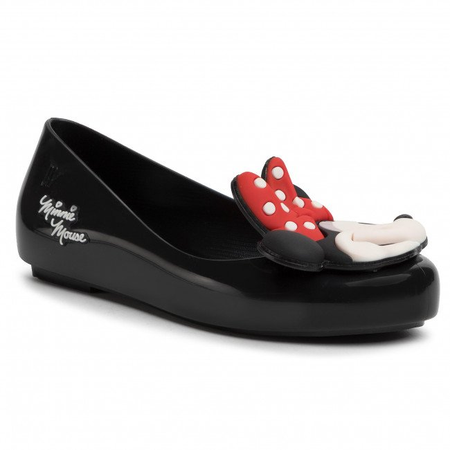 Baleríny MELISSA - Mel Sweet Love + Minnie Inf 32807 Black 01003